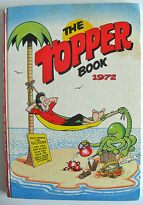 Vintage Uk Annual - The Topper Book 1972 - Beryl The Peril, Desert Island Dick