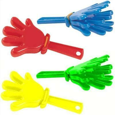 6 Mini Hand Clappers - Loot/Party Bag Fillers Wedding/Kids