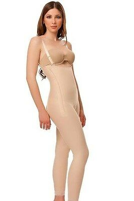 Women Girdle Low Waist Ankle Length Stomach Flatter Trim Figure Instantly Top Q