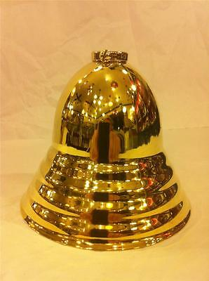 "Lamp Canopy Solid Brass  Antique Style Bee Hive  3/4"" Slip Ring Large Size"