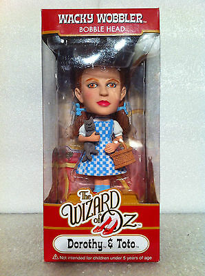 FUNKO THE WIZARD OF OZ DOROTHY AND TOTO BOBBLE HEAD WACKY WOBBLER NEW WICKED