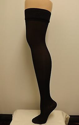 Sheer Thigh Highs, 15-20 mmHg  compression  w Stay up Lace Top Stockings