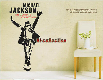 Michael Jackson RockRemovable Wall Art Decal Vinyl Sticker Mural Home Decor HL24