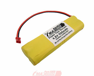 Ni-Cd AA 4.8V 900mAh Rechargeable Battery  for toys  Model Car w/Wires 4SH
