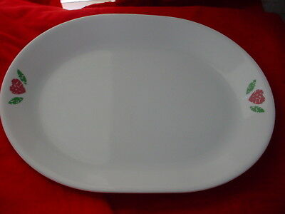 Corelle Quilt Oval Serving Platter Good Gently Used Condition Free Usa Shipping