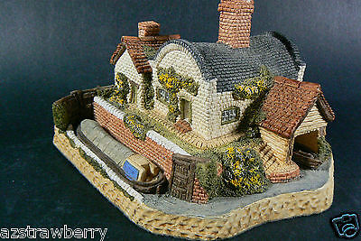 Midlands Collection Lock Keepers Cottage by David Winter Hand Made 1987