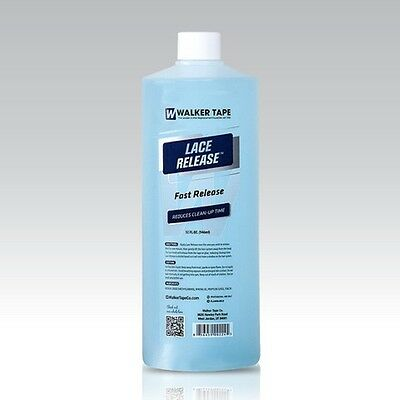 LACE RELEASE Adhesive & Tape Release for all human hair systems cleaner 32 OZ.