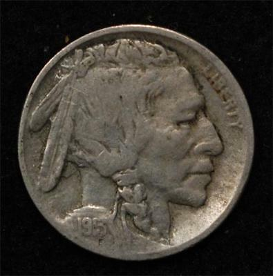1913-D Type II Buffalo Nickel, nice F-VF, very solid for grade