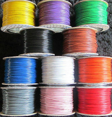 10m Layout Wire 1.4A 7/0.2 - Standard DC track power/ points / lights
