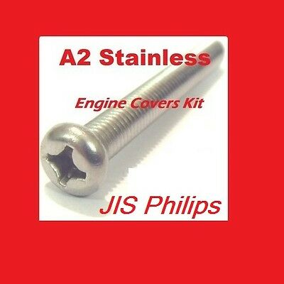 Crankcase Covers Kit Stainless Philips KH400