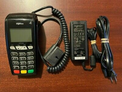 Ingenico iCT220 V2 EMV IP/Dial Terminal w/ EMV Chip Reader