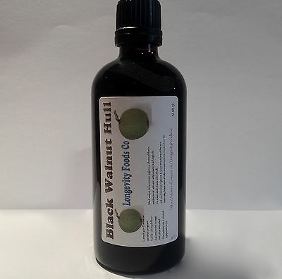 Black Walnut Hull Tincture 100ml 1.2 mix