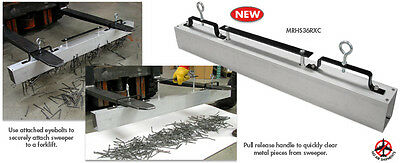 """36"""" Hang-Type Magnetic Sweeper Pick Up Tool Magnet Bar- Master Magnetic Brand"""