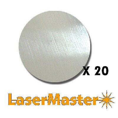 20 x 1.2mm Stainless Steel Discs - 20mm Diameter