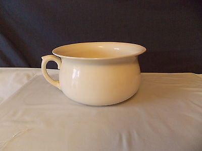 Antique Kensington Ware England Ceramic Porcelain Chamber Pot Cir-1930