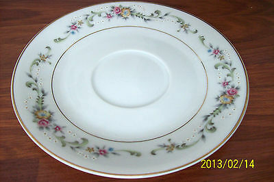 "Acsons ~ Diamond China ~ Limoge ~ Saucer Plate 6 1/8"" ~ Made in Japan"