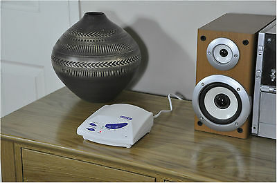 White AC Mains 3 Channel Handsfree Wireless Intercom System - Sold in Pairs