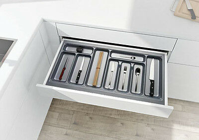 Cutlery Tray for Kitchen Drawers & Blum Tandembox - Insert Length 422mm