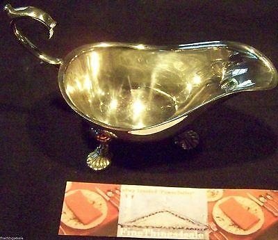 VICTORIAN AGE SILVER - IRISH ROCOCO STYLE GRAVY SAUCE BOAT -our FineThings4sale