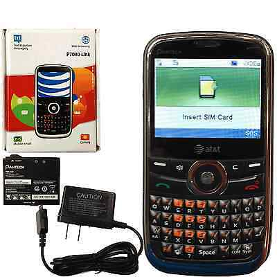 New Unlocked Pnatech Link P7040 GSM QWERTY Phone