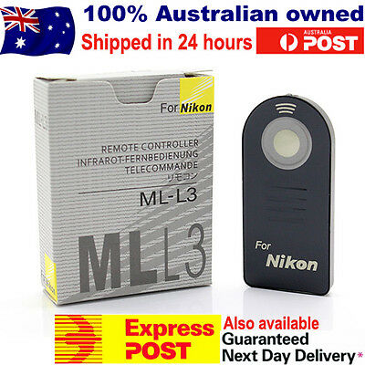 ML-L3 Infrared Remote Control for Nikon D7000 D5100 D5000 D3000 D90 D80 MLL3 New