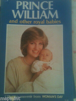 Princess Diana:PRINCE WILLIAM AND OTHER ROYAL BABIES BOOK  130 PAGES RARE
