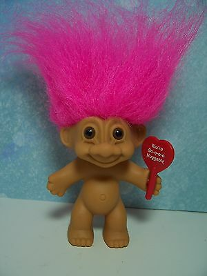 "YOU'RE SO-O-O-O HUGGABLE - 3"" Russ Troll Doll - OLD STORE STOCK"