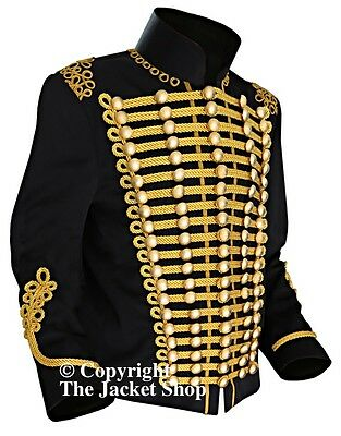 Officer's Casual Military Parade Gold Braid Jacket