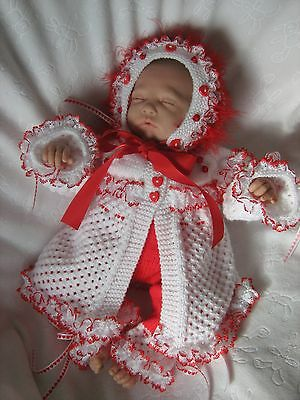 "Honeydropdesigns * Lil Sweetheart * PAPER KNITTING PATTERN * 19-22"" Reborn"
