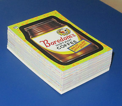 Wacky Packages Flashback 1 Complete Set Of 72 Stickers