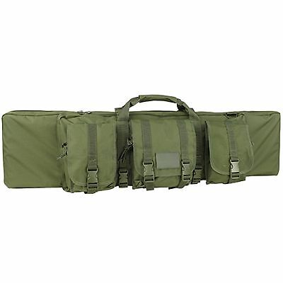 """Condor 133 36"""" OD Green MOLLE Tactical .223 5.56 Hunting Rifle Gun Carrying Case"""