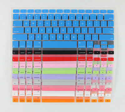 """US Keyboard Silicone Skin Cover film For APPLE MacBook Mac Pro AIR 13"""" 15"""" 17"""""""