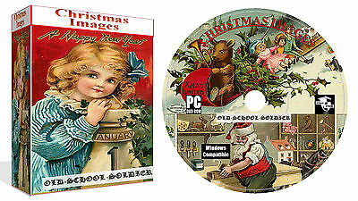 5000 + Vintage And Christmas Images On DVD For Cardmaking And Decouage +Bonus