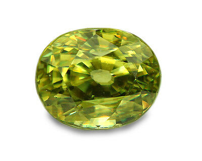 1.25 cts Natural Sphene Loose Gemstone - Oval