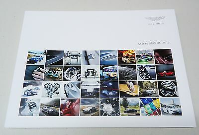 Aston Martin 2012 Dealer Sales Brochure 78 Page Book 10/2012 Oem # 705545