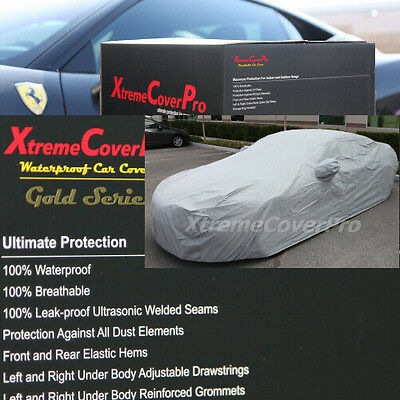 2008 2009 2010 2011 Dodge Challenger Waterproof Car Cover W/MIRRORPOCKET GREY