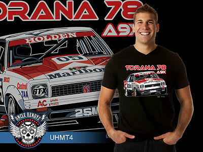A9X Holden Torana Men's T- Shirt featuring Peter Brock, New & Exclusive!