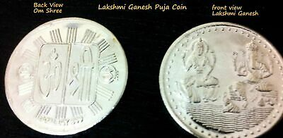 Shree Lakshmi Ganesh Whole Sale Puja Bulk Antique Coin Wedding Return Gift Coins