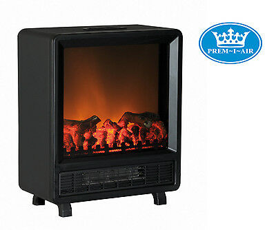 Prem-I-Air Home Fireplace Modern Flame Effect 1.5 kW Electric Stove Fan Heater