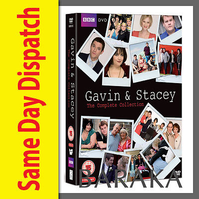 Gavin And Stacey Season Series 1, 2, 3 & 2008 Christmas Special DVD Box Set R4