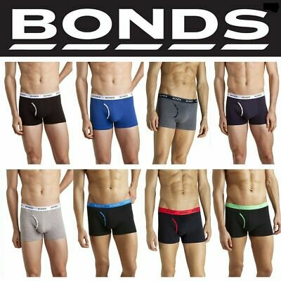 Authentic BONDS Mens Guyfront Trunk Trunks Underwear Shorts Briefs Size S M L XL
