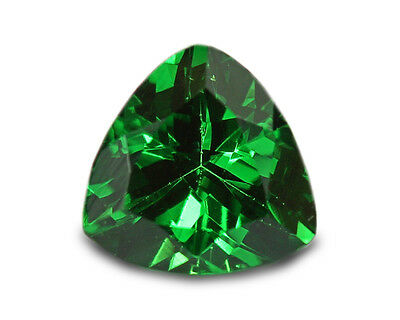 0.35 Carats Natural Tsavorite Gemstone - Trilliant