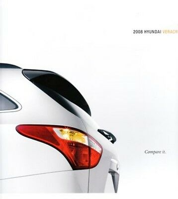 2008 08  Hyundai Veracruz  original sales brochure MINT