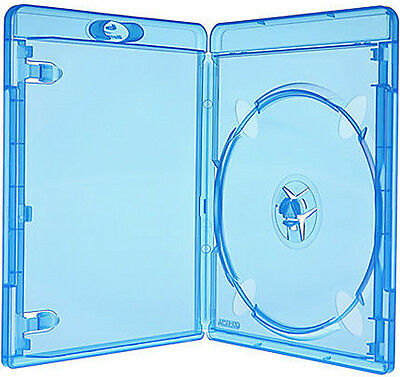 10 AMARAY Bluray single Case 11mm für 1 Disk BD-R Box Leer Hülle Hüllen 10+2St