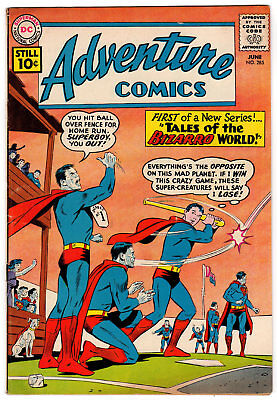 Adventure Comics#285 5.0 Off-White Pages Silver Age 1St Tales Bizarro Of World
