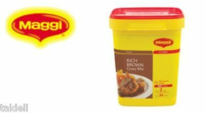 RICH GRAVY MIX 2KG BY MAGGI -  VIA REGULAR DELIVERY Long Best Before