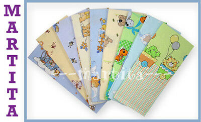10 x NEW FLANNEL BABY BLANKETS PATTERNED