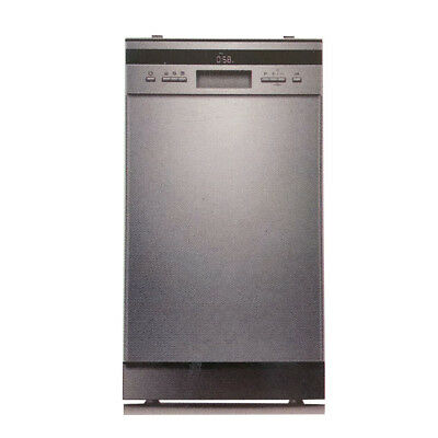 New Narrow Freestanding Dishwasher Stainless Steel 45cm Narrow Slim Dishwasher