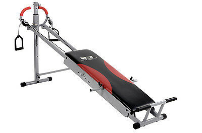 Christopeit TE 1 Total Exerciser Kompakte Trainingsbank 185x62x97 cm bis 120 kg