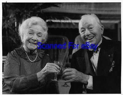HELEN HAYES, MAURICE EVANS Great TV Photo AGATHA CHRISTIE'S A CARIBBEAN MYSTERY